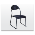 Steel Chair Without Arm