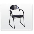 Steel Chair With Arms