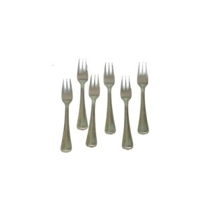STAINLESS STEEL ROYAL FRUIT FORK 16G SMALL(  6 PCS )