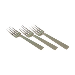 STAINLESS STEEL AROOFA TABLE FORK 16G BIG ( 3 PCS )